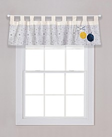 Galaxy Print Window Valance