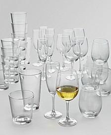 30-Pc. Glassware Set, Created for Macy's