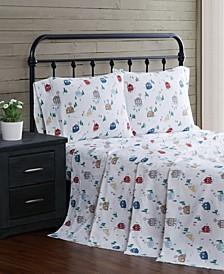 4-Piece Flannel King Sheet Set