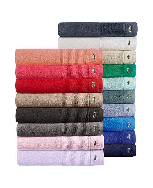 Lacoste Legend Supima Cotton Bath Towel Collection