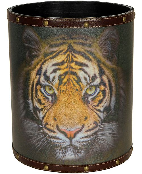 Red Lantern Bengal Tiger Waste Basket