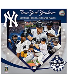 New York Yankees Sports Shaped 500pc. Puzzle
