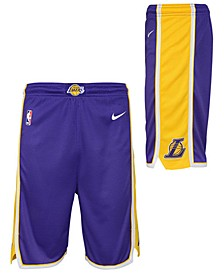 Big Boys Los Angeles Lakers Statement Swingman Shorts