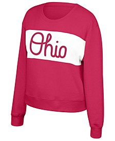 Women's Ohio State Buckeyes Superstar Crew Sweatshirt