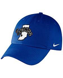 Indiana State Sycamores Classic Swoosh Stretch Fitted Cap
