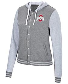 Women's Ohio State Buckeyes Varsity Snap Jacket
