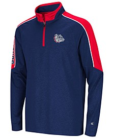 Big Boys Gonzaga Bulldogs Bunsen Quarter-Zip Pullover