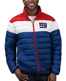 Men's New York Giants Cold Front Quilted Polyfill Jacket