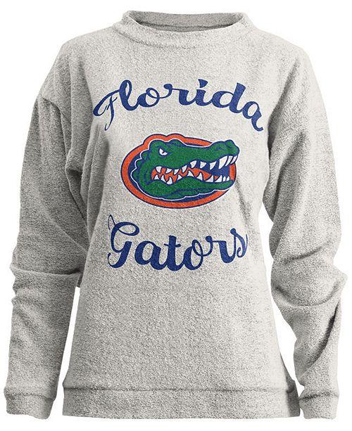 Pressbox Women's Florida Gators Comfy Terry Sweatshirt