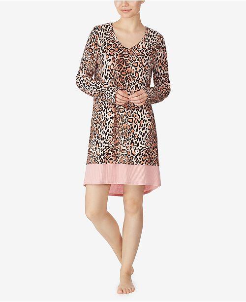 Ellen Tracy Long Sleeve Sleep Shirt, Online Only