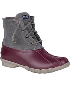 Women's Corduroy Saltwater Boots