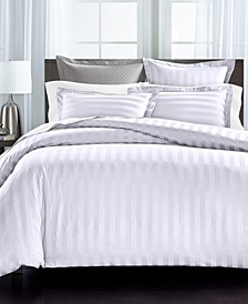 Thin Stripe 550 Thread Count Comforter Sets, Created for Macy's