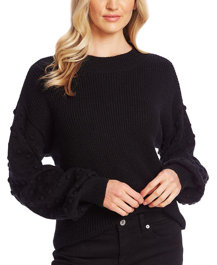 CeCe - 3D Polka Dot Sweater