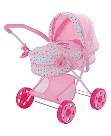 Love Heart Pretend Play Baby Doll Pram Stroller
