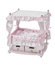 Pretend Play Princess Baby Doll Bed