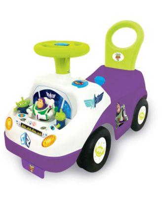 Kiddieland Disney Toy Story 4 Buzz Lightyear My First Buzz Light Sound Activity Ride-On