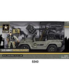 U.S. Army Figure Patrol Playset
