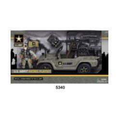 Excite U.s. Army Figure Patrol Playset