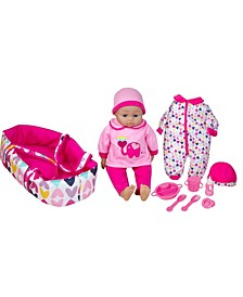 "16"" Talking Baby Doll with Accessories"