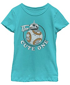 Star Wars Big Girl's BB-8 The Cute One Z1 Short Sleeve T-Shirt