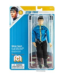 "Mego Action Figure 8"" Star Trek - Spock, Dress Uniform Limited Edition Collector's Item"