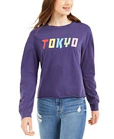 Juniors' Tokyo Graphic T-Shirt