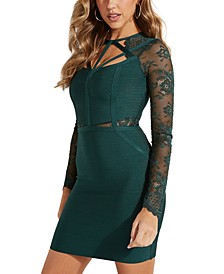 Prianka Lace Bandage Dress