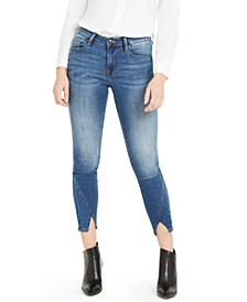 Marley Split-Hem Ankle Skinny Jeans