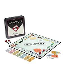 Monopoly Tin Board Game Nostalgia Edition