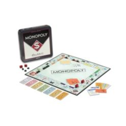 Winning Solutions Monopoly Tin Board Game Nostalgia Edition