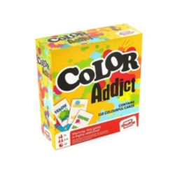 Shuffle Color Addict Family Card Game