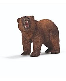 Wild Life Grizzly Bear Toy Figure