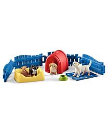 Farm World, Puppy Pen Toy Animal Set