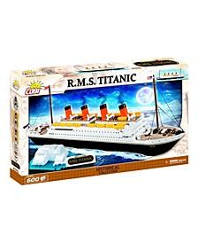 Historical Collection 1912 R.M.S. Titanic 600 Piece Brick Construction Block Building Kit