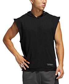 Men's Sleeveless Hoodie T-Shirt