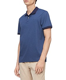 Men's Liquid Touch Micro Stripe Polo Shirt