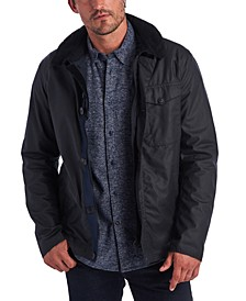 Men's Bunt Waxed Hooded Jacket