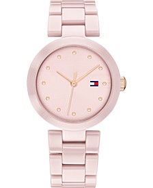 Women's Blush Ceramic Bracelet Watch 32mm