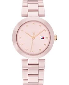 Women's Blush Ceramic Bracelet Watch 32mm, Created for Macy's