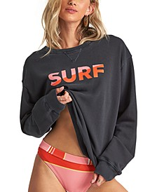Juniors' Surf Vibe Sweatshirt
