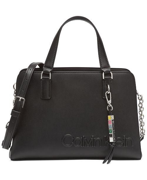 Calvin Klein Cube Satchel