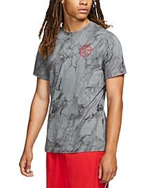 Men's Printed Basketball T-Shirt