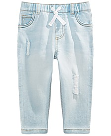 Baby Boys Patched Jeans, Created For Macy's
