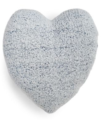 Sherpa Heart Decorative Pillow, Created for Macy's