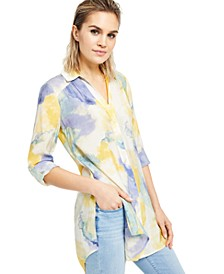 INC Watercolor Tunic, Created for Macy's