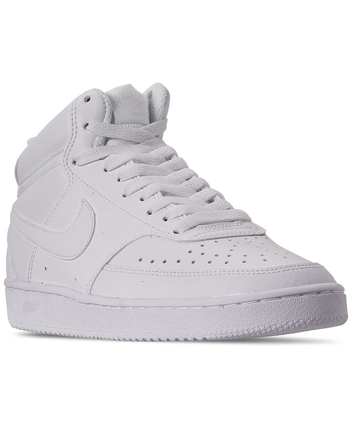 Nike - Women's Court Vision Mid Casual Sneakers from Finish Line