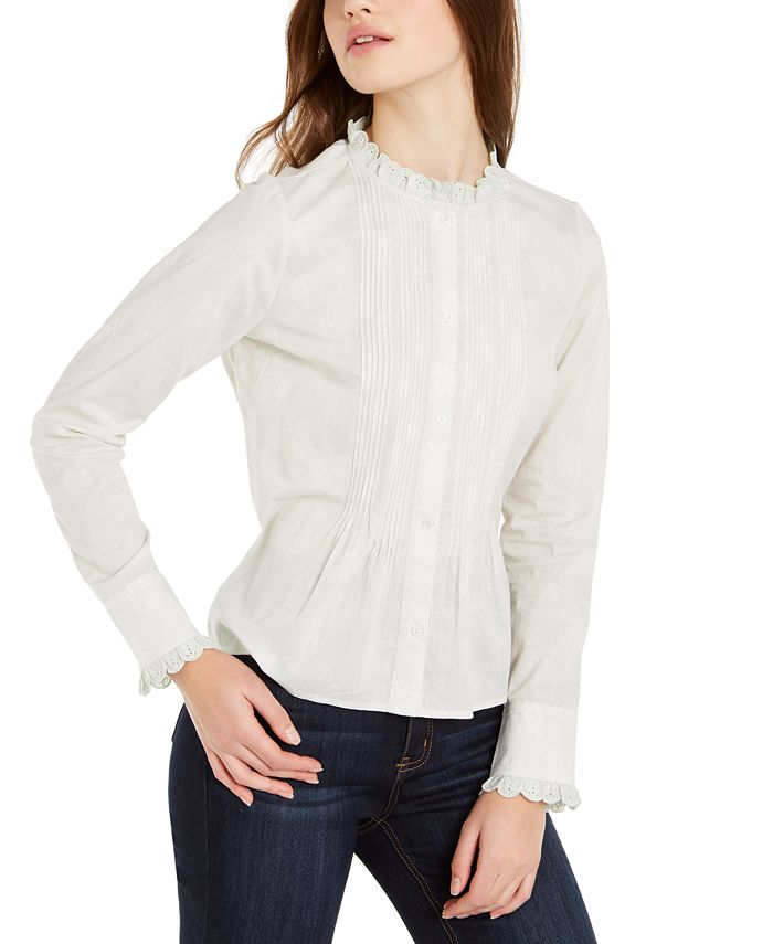 Lucky Brand - Eleanor Cotton Blouse