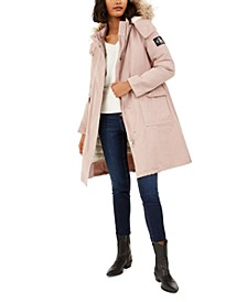 Hooded Parka With Removable Puffer Jacket