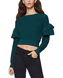 Cotton Cropped Sweater