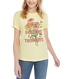 Juniors' Grow Positive Thoughts T-Shirt
